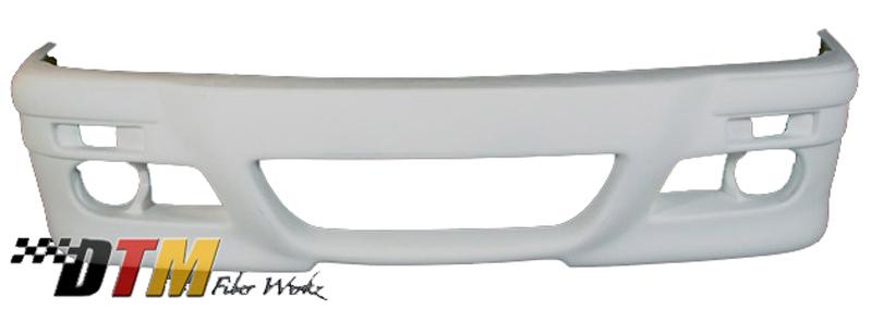 DTM Fiber Werkz BMW E30 RG E46 Style Front Bumper Unmounted