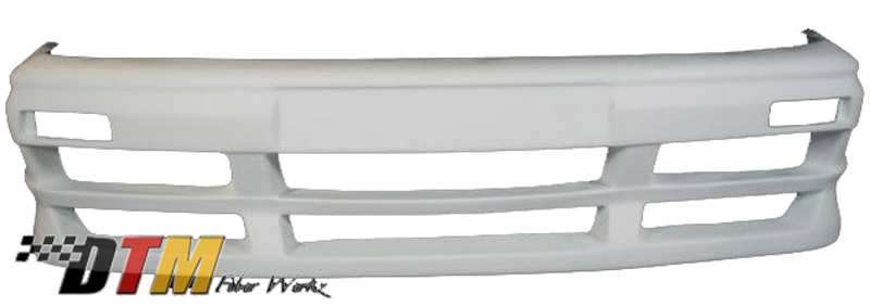 DTM Fiber Werkz BMW E30 RG GTS Style Front Bumper UnMounted 1