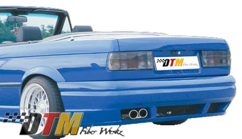 DTM Fiber Werkz BMW E30 RG GTS Style Rear Bumper Mounted 2
