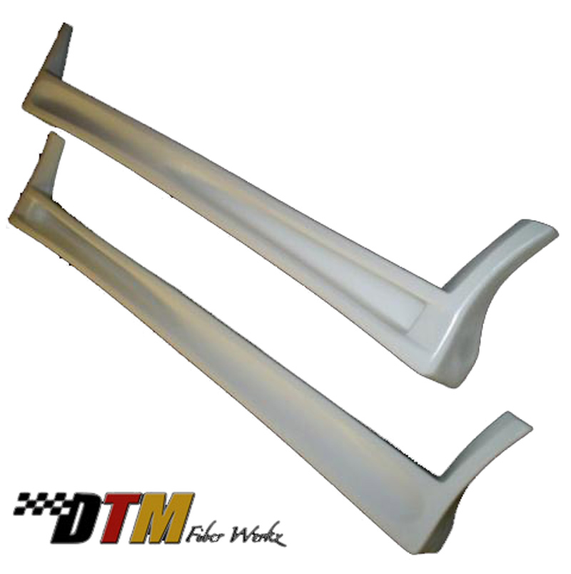 DTM Fiber Werkz BMW E30 RG GTS style Side Skirts Unmounted