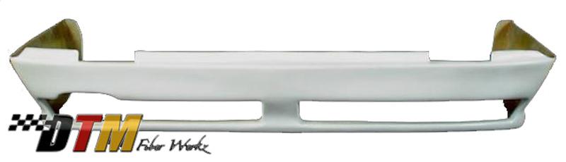 DTM Fiber Werkz BMW E30 RG Infinity Style Rear Apron for USDM E30 View 2