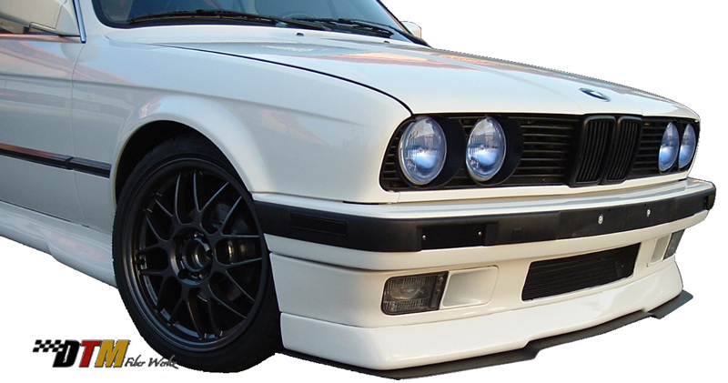 DTM Fiber Werkz BMW E30 RG Infinity Style Front Cup Lip 1