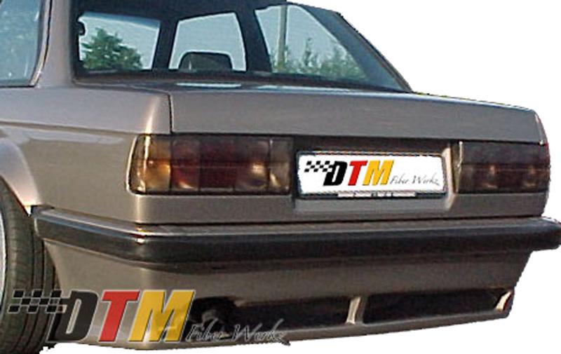 DTM Fiber Werkz BMW E30 RG Infinity Style Rear Apron View 1
