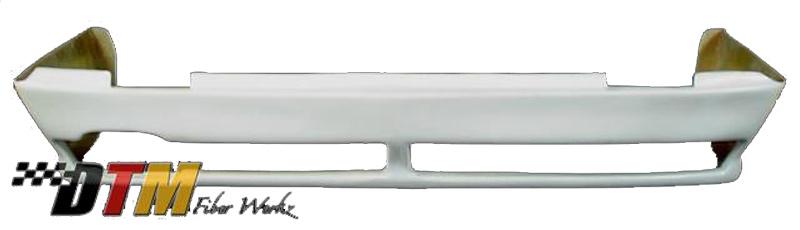 DTM Fiber Werkz BMW E30 RG Infinity Style Rear Apron View 2
