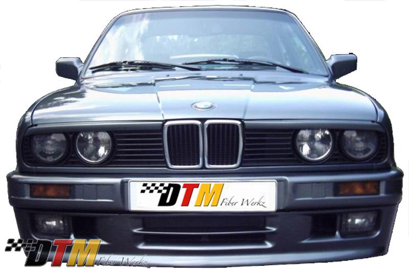 DTM Fiber Werkz BMW E30 Mtech II Style Front Bumper