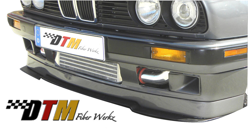 DTM Fiber Werkz BMW E30 Front Lip For IS Models View 1