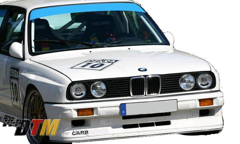 DTM Fiber Werkz BMW E30 EVO R Style Widebody Front Fenders View 3