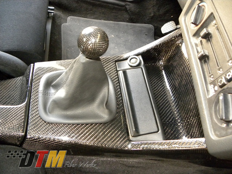 DTM Fiber Werkz BMW E30 Carbon Fiber Center Console 3