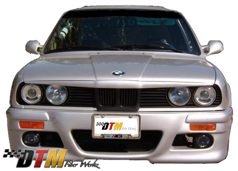 DTM Fiber Werkz BMW E30 84-91 Bad Boy Eyebrow 1