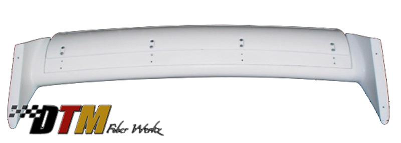 DTM Fiber Werkz BMW E30 EVO DTM Spoiler FRP Base Super Long Gurney Flap Underside