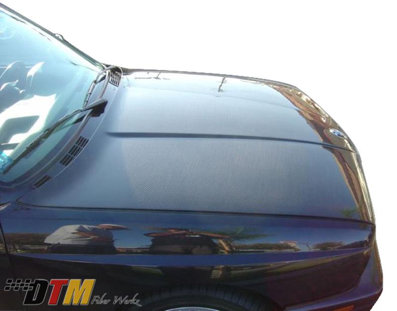 DTM Fiber Werkz OEM Style Hood in CFRP View 4