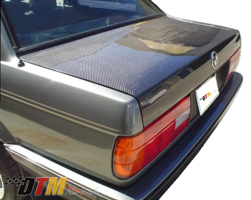 DTM Fiber Werkz BMW E30 Carbon Fiber Trunk View 3