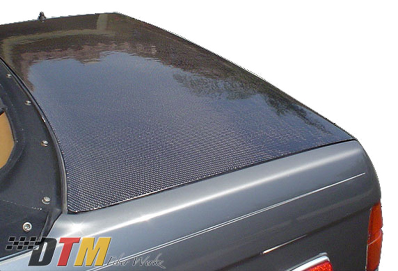 DTM Fiber Werkz BMW E30 Carbon Fiber Trunk View 4