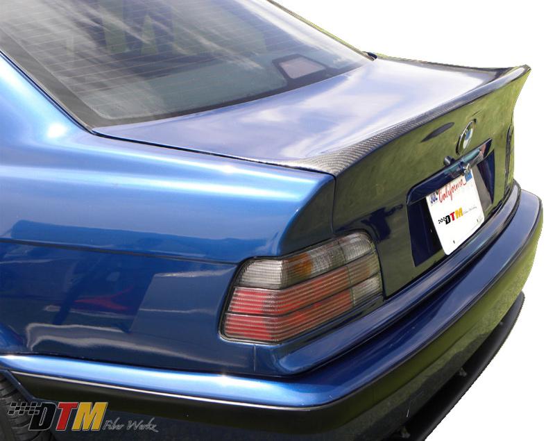 DTM Fiber Werkz BMW E36 CSL Trunk Lid View 2