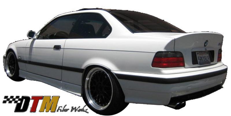 DTM Fiber Werkz BMW E36 CSL Trunk Lid View 4