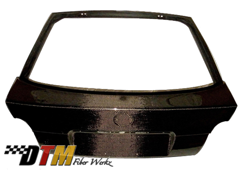 DTM Fiber Werkz BMW 318ti Carbon Fiber Trunk/Hatch Unmounted