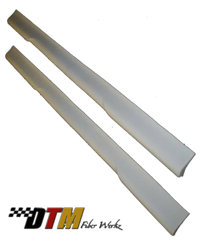 DTM Fiber Werkz BMW E36 HM Style Side Skirts FRP View 2
