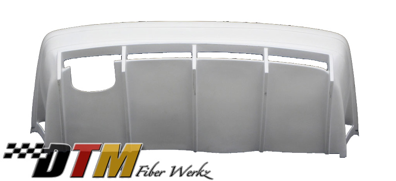 DTM Fiber Werkz BMW E36 GTR-S Style Rear Bumper With Diffuser 2