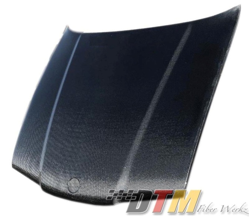 DTM Fiber Werkz BMW E36 Carbon Fiber Hood (OEM Style)