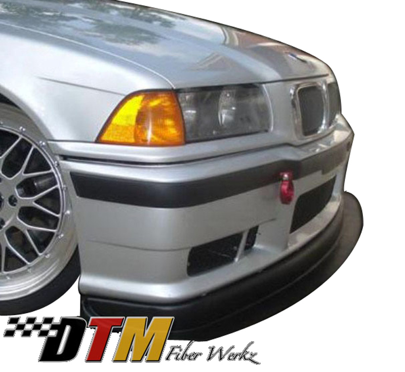 DTM Fiber Werkz BMW E36 M3 Race Front Lip with Undertray View 4