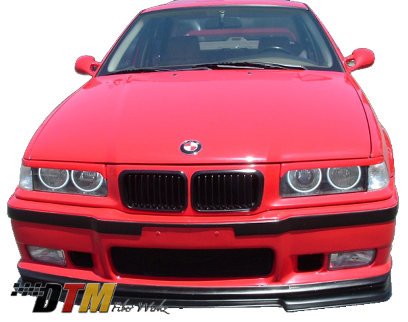 DTM Fiber Werkz BMW E36 M3 RG GT Style Cup Lip View 1