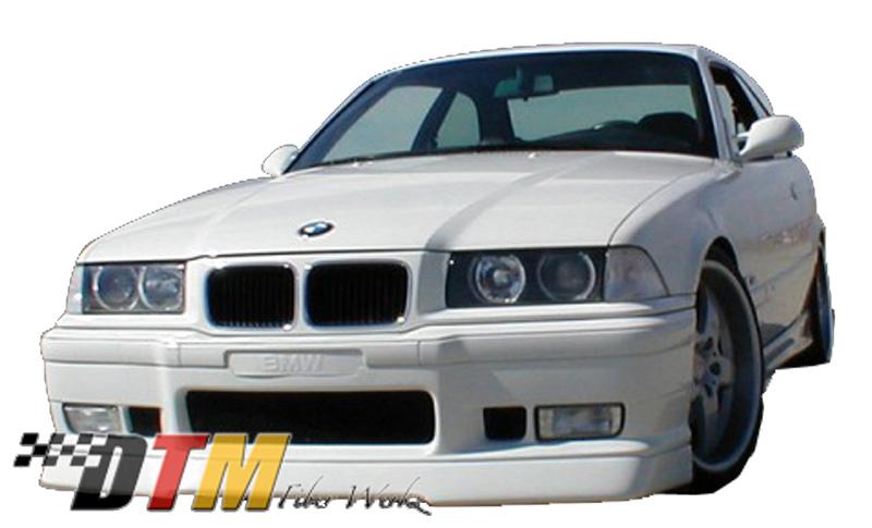 DTM Fiber Werkz BMW E36 M3 RG Infinity Style Front Lip