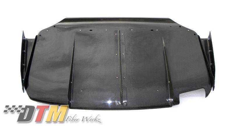 DTM Fiber Werkz BMW E36 M3 VRS Style Rear Diffuser [CFRP] View 2