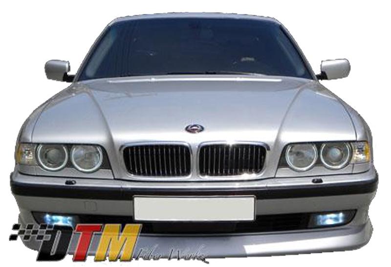 DTM Fiber Werkz BMW E38 ACS Style Front Lip Mounted 1