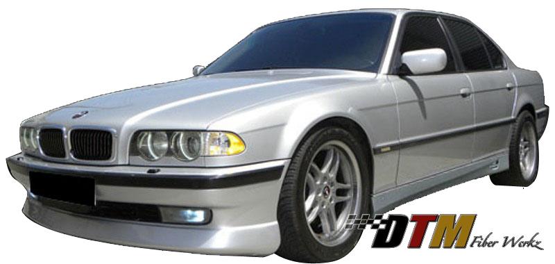 DTM Fiber Werkz BMW E38 ACS Style Front Lip Mounted 2