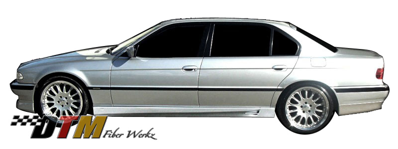 DTM Fiber Werkz BMW E38 ACS Style Side Skirts 1