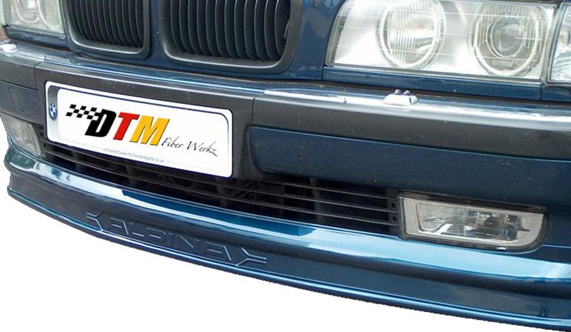 DTM Fiber Werkz BMW E38 7-Series AP Style Front Lip View 1