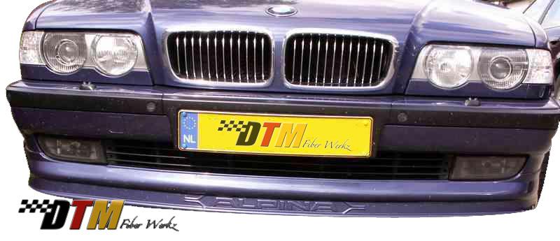 DTM Fiber Werkz BMW E38 7-Series AP Style Front Lip View 4