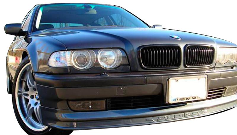DTM Fiber Werkz BMW E38 7-Series AP Style Front Lip View 5