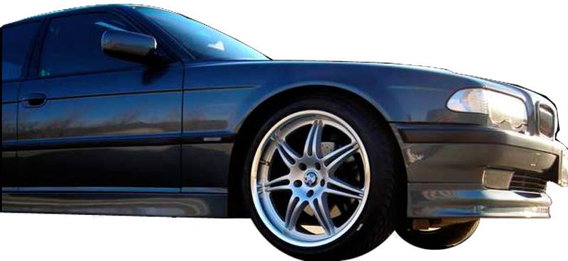 DTM Fiber Werkz BMW E38 7-Series AP Style Front Lip View 6