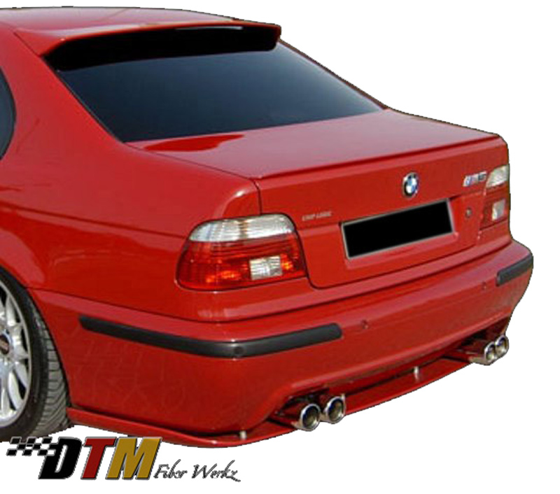 DTM Fiber Werkz BMW E39 M5 HM style Rear Lower Diffuser