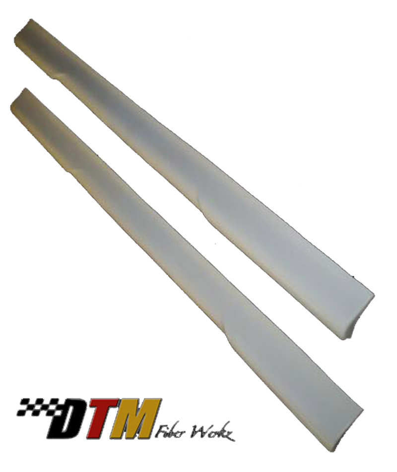 DTM Fiber Werkz BMW E39 HM Style Side Skirts Unmounted FRP