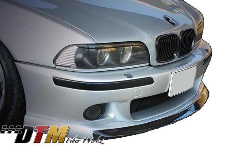 DTM Fiber Werkz BMW E39 M5 Strass Style Front Lip