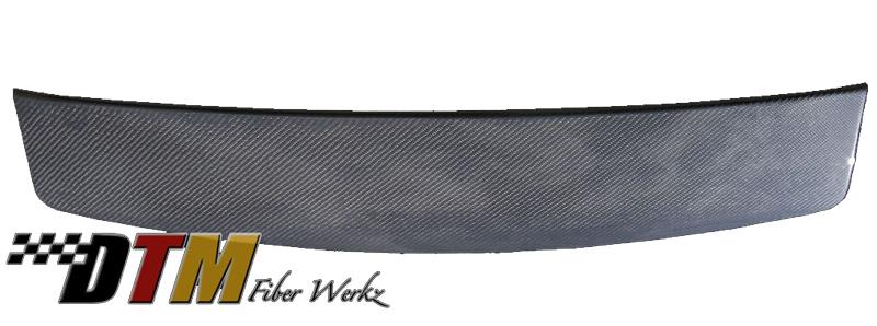 DTM Fiber Werkz BMW E39 Wagon Roof Spoiler Carbon Fiber