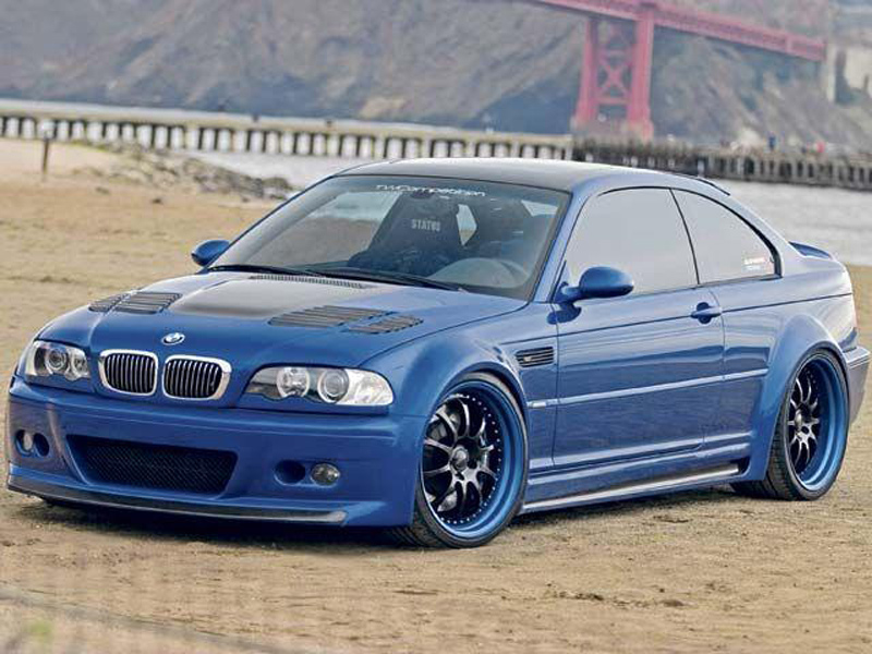 DTM Fiber Werkz BMW E46 GTR Side Skirts View 3