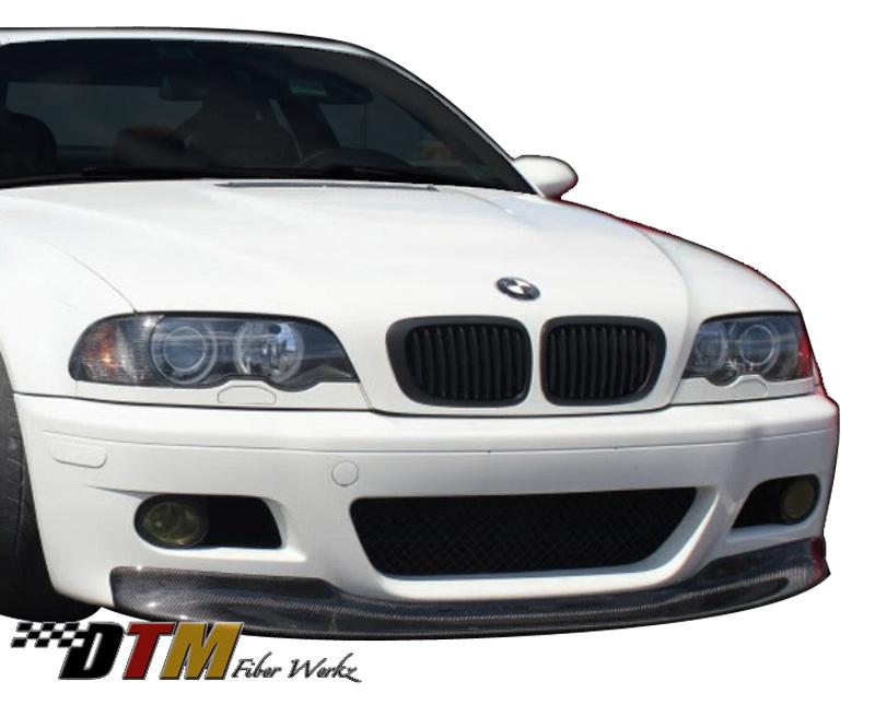 DTM Fiber Werkz BMW E46 M3 Front Lip