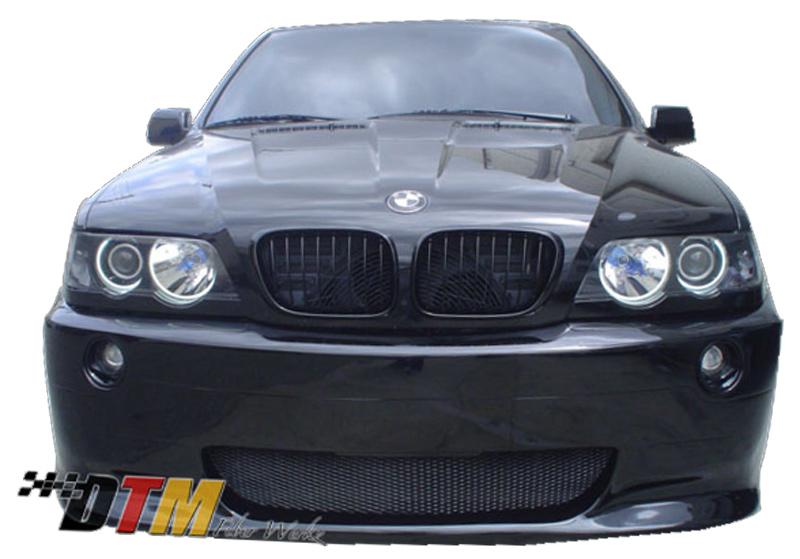 DTM Fiber Werkz BMW E53 X5 M5 Style Front Bumper View 1