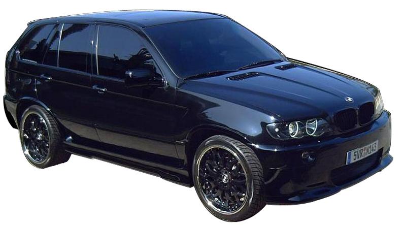 DTM Fiber Werkz BMW E53 X5 E39 M5 Style Bumper