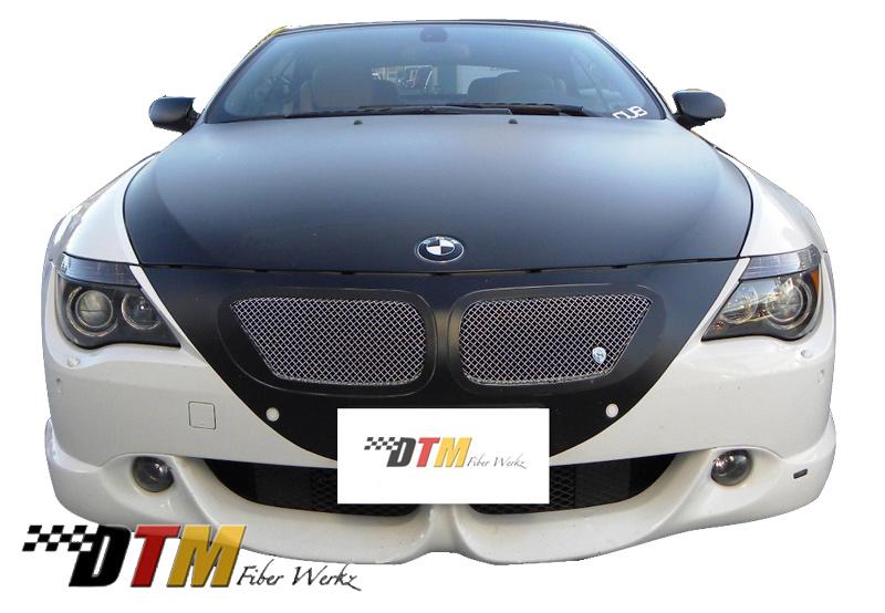 DTM Fiber Werkz BMW E63/E64 6-Series ACS Front Apron View 1