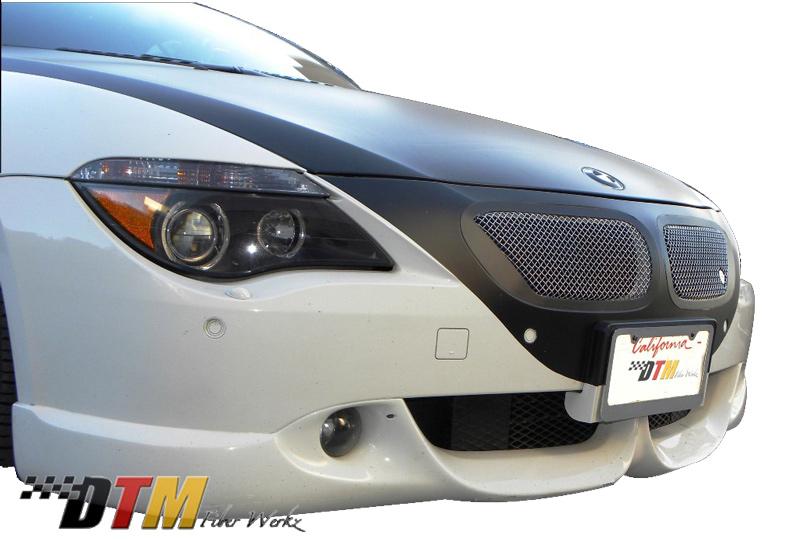 DTM Fiber Werkz BMW E63/E64 6-Series ACS Front Apron View 2