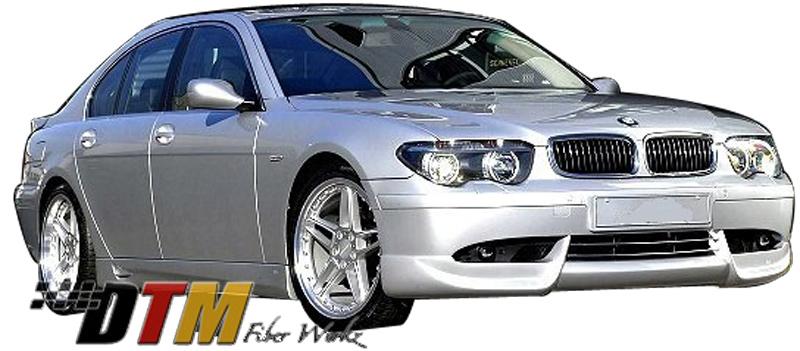 DTM Fiber Werkz BMW E65 7-Series ACS Style Front Apron View 1