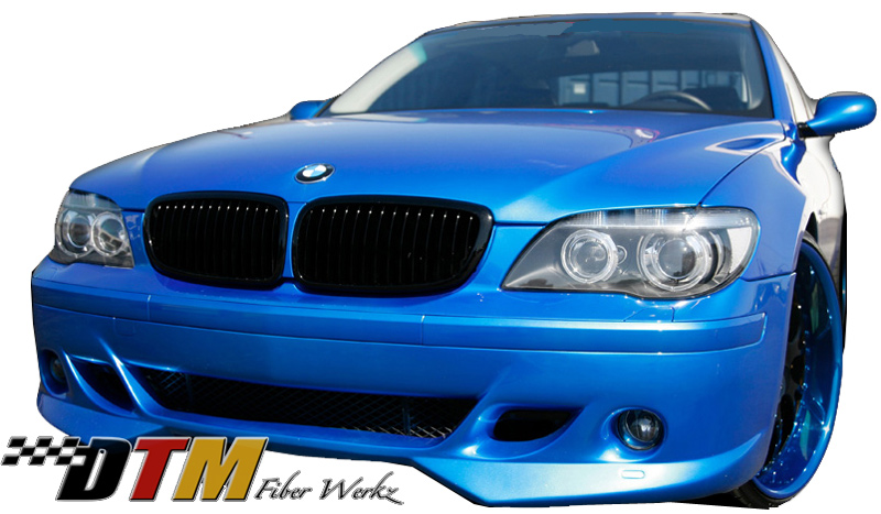 DTM Fiber Werkz BMW E66 7-Series ACS Style Front Apron View 1