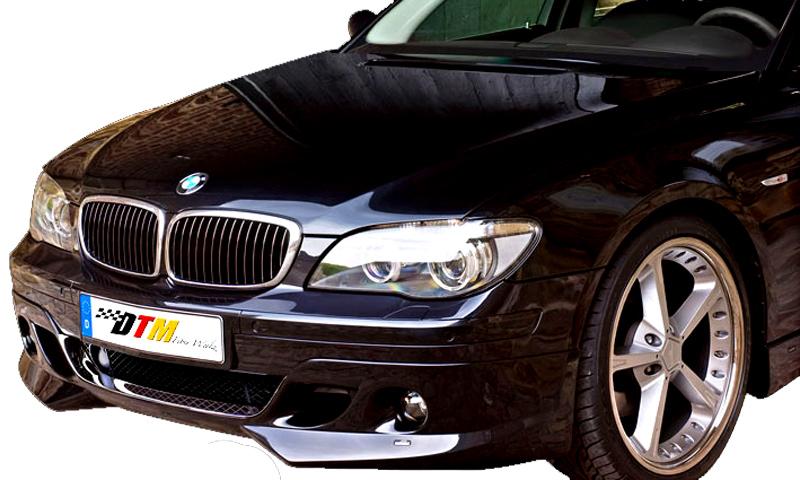 DTM Fiber Werkz BMW E66 7-Series ACS Style Front Apron View 3