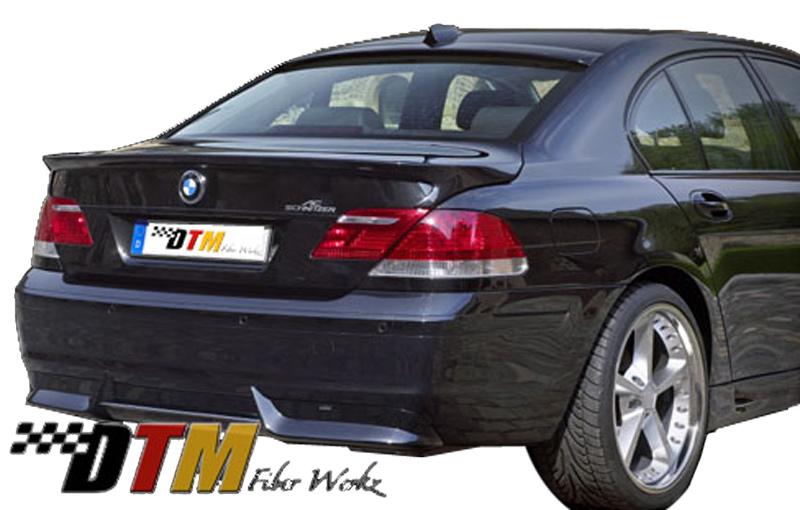 DTM Fiber Werkz BMW E66 7-Series ACS Rear Apron View 1