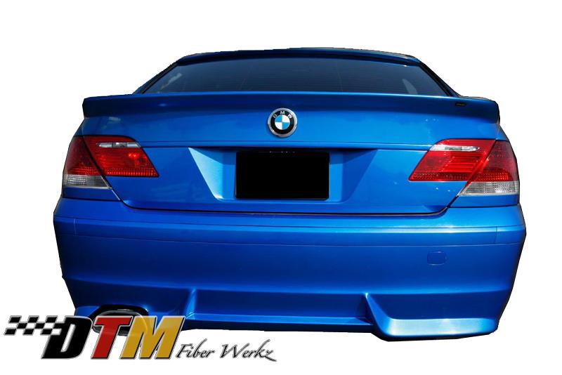 DTM Fiber Werkz BMW E66 7-Series ACS Rear Apron View 3