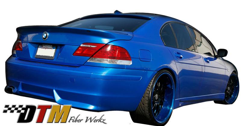 DTM Fiber Werkz BMW E66 7-Series ACS Rear Apron View 5